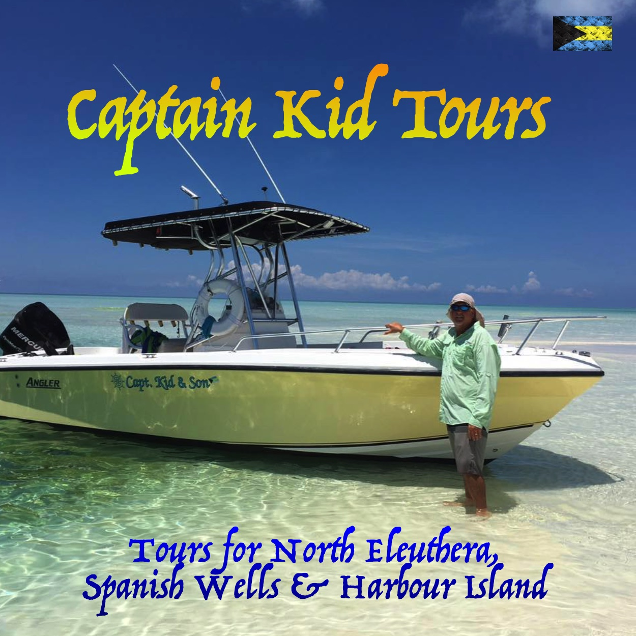 Captain Kid Tours, If you are Looking for Things to Do on Eleuthera Bahamas, you've come to the right place.