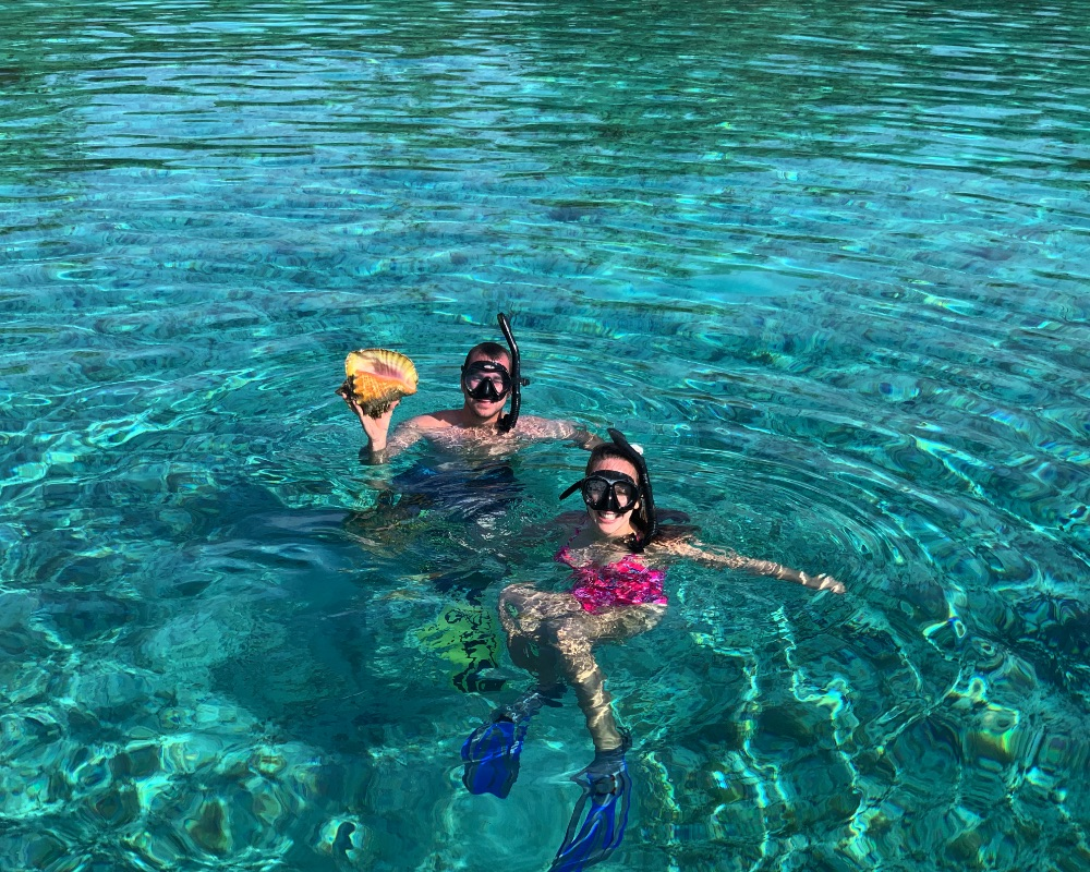 Amazing Tropical Sealife! Awesome Snorkeling The water is warm. Sea life is everywhere. We boat you to personal secluded locations, where we know there is plenty to see, and opportunities for great memories.